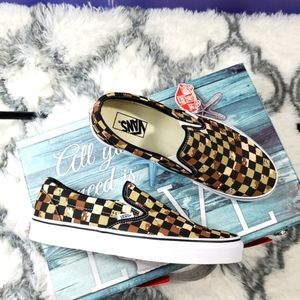 Vans Checkerboard Classic slip on (CL)